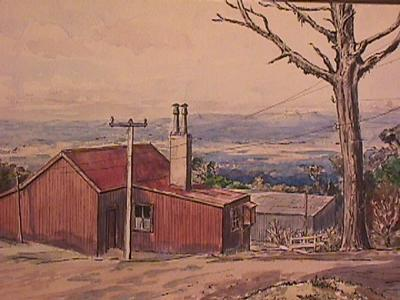 """Mt Egmont. The Cottage"""