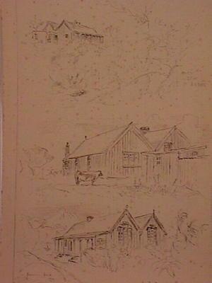 """Rev John Whiteley's House.  S. Road.  New Plymouth""; 1929; A65.919"