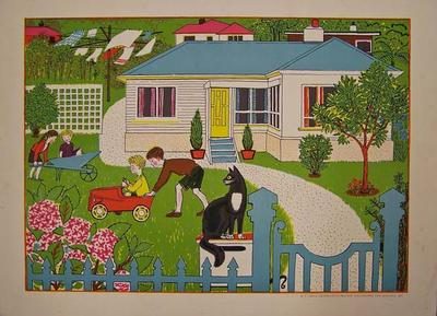 In The Garden  [poster]