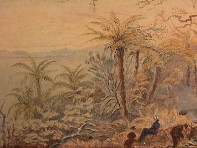 Untitled (Taranaki Coastal Scene); Late 19th Century-Early 20th Century; TM.1999.40
