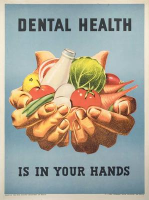Dental Health Is In Your Hands [Poster]