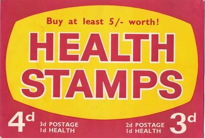 Buy at Least 5/- Worth Health Stamps [poster]