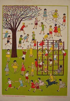 The School Playground [poster]