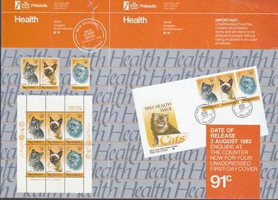 """NZ Post - """"Health, Sante, Ausgabe, Kinderhilfswerk... [poster]"""