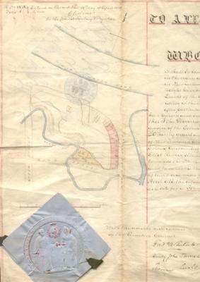 Taranaki Provincial Council [Land Deed]