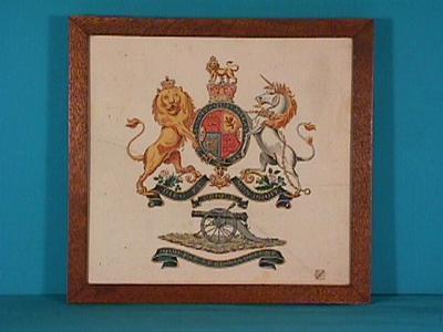 Royal Regiment of Artillery colours