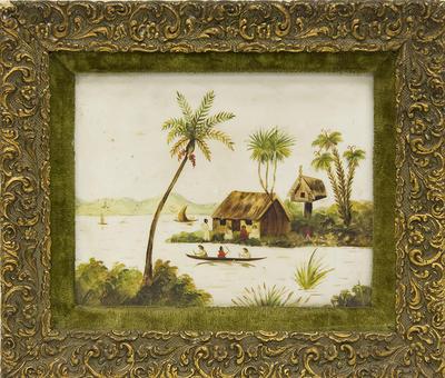 Untitled [pataka & water scene]