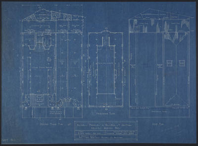 Business Premises in Russell St. Hastings Messers Harvey Bros [plans]