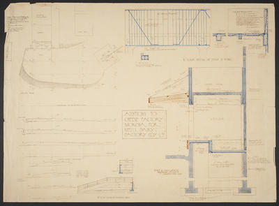 Additions to Cheese Factory Mokoia for Mells Dairy Factory Coy. Ltd [plans]