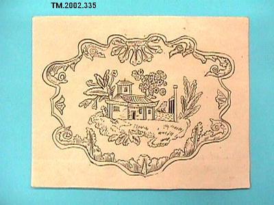 Untitled (Chinese house); TM.2002.335