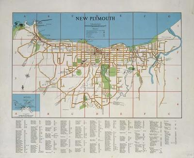 New Plymouth [map] 1948