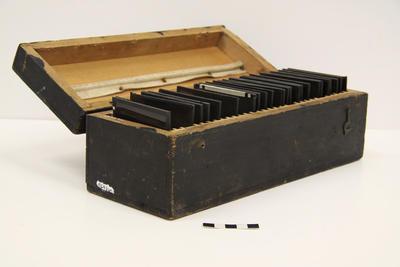Box, Lantern Slides