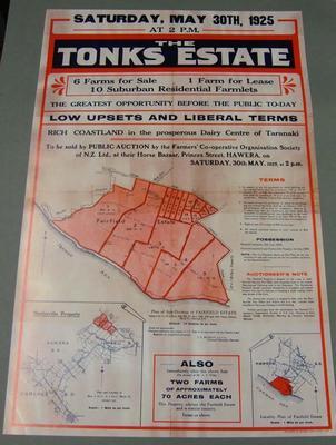Tonks Estate, Hawera.