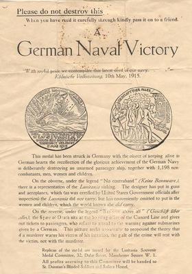 A German Naval Victory.