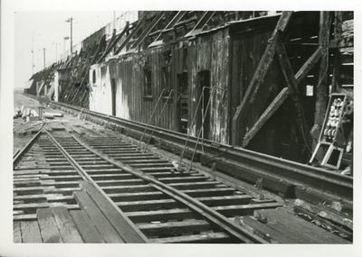 """""""NK Wharf fire damage"""""""