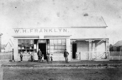 W. H. Franklyn's store, Inglewood