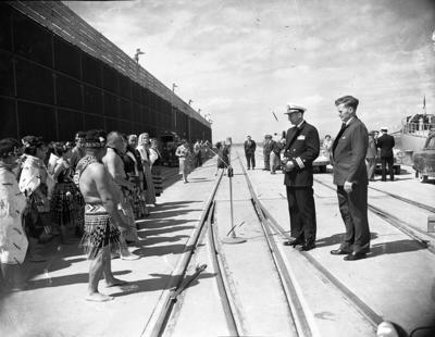 Welcoming Ceremony for the USS Staten Island