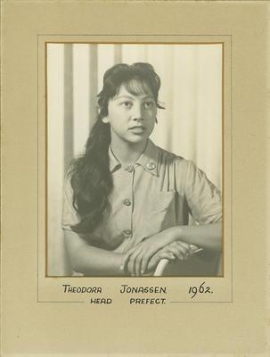 Theodora Jonassen, Head Prefect 1962