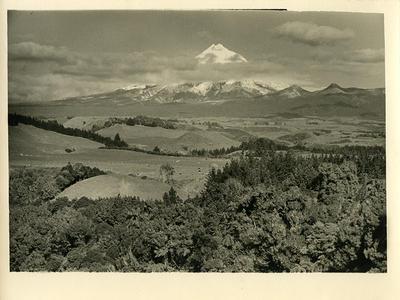 Mount Taranaki; Circa 1925-1958; PHO2010-0478