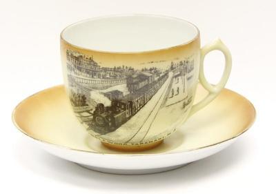 Cup, Tea & Saucer