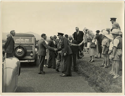 Governer General's Visit to New Plymouth 1947, photographs
