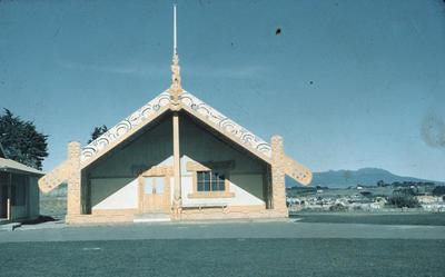 Manukorihi meeting house, Waitara