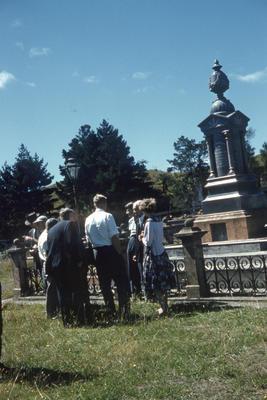 Te Whiti o Rongomai's headstone, Parihaka