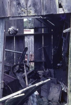 Old shed, Parihaka