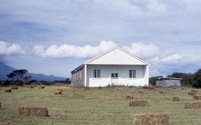 Te Potaka marae, Ōaonui; Jan 1971; PHO2011-0442