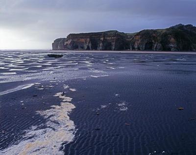 Tongaporutu Coastline - Pilot Point, 20 July 2008; 20 Jul 2008; PHO2011-1247