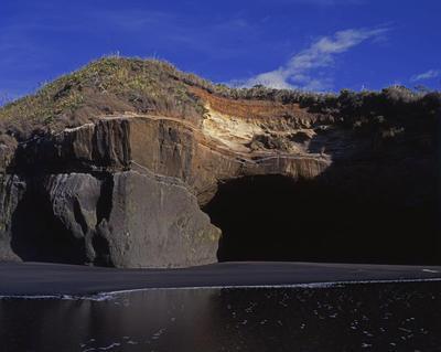 Tongaporutu Coastline - Te Kawau pā, 12 January 2009