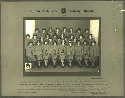 """""""St. John Ambulance Nursing Division"""""""