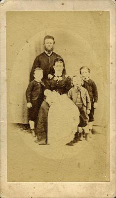 John and Fanny Joll and Family