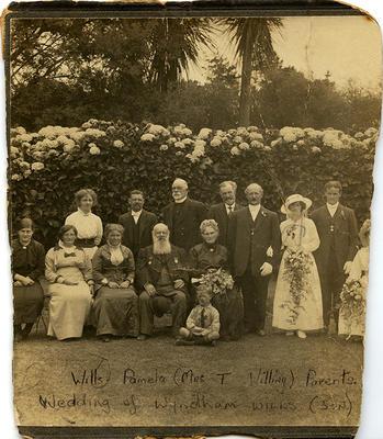 Wyndham and Josephine Wills, Wedding