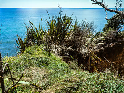Tongaporutu Coastline - Four Brothers Beach, 13 February 2011