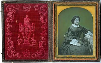 Elizabeth Bosworth; Circa 1855-1860s; A62.822