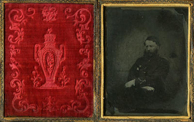 Sgt. William Bosworth, 57th Regiment; Circa 1855-1865; A62.823