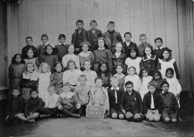 Waihi School, Waitara; 24 Oct 1911; PHO2013-0022