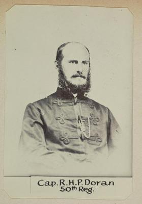 """""""Cap. R.H.P. Doran 50th Reg.""""; Circa 1900; PHO2014-0115"""