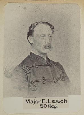 """Major E. Leach 50 Reg.""; Circa 1900; PHO2014-0116"