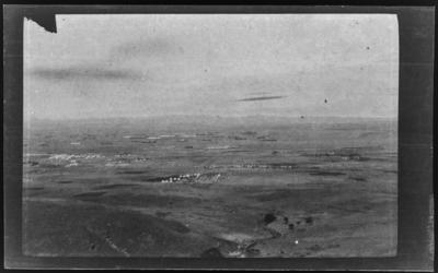 Untitled (Panorama of Camp & Fleet in Harbour)