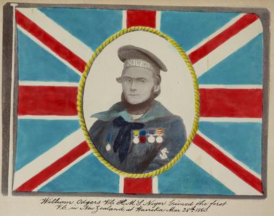 """""""William Odgers V.C. H.M.S. Niger"""""""