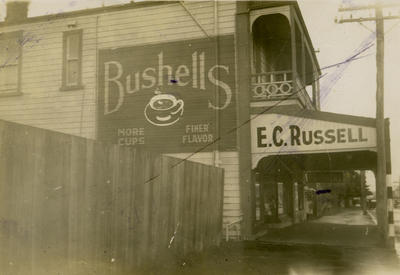 E.C. Russell's grocery store