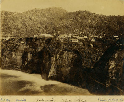 Pukearuhe Armed Constabulary Redoubt and Settlement.; 1873-1874; PHO2002-448