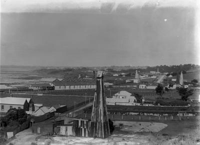 Moturoa Oilfield Panorama plate 1; 1913; 1910-1919; PHO2002-630