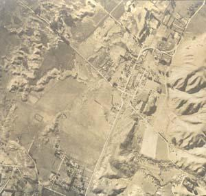 Detail, Aerial Mapping Photograph