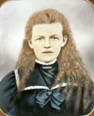 Portrait, Susan Wolfe (nee Watson)