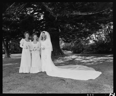 Rutherford, Wedding