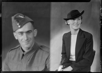 Page, Serviceman and Woman