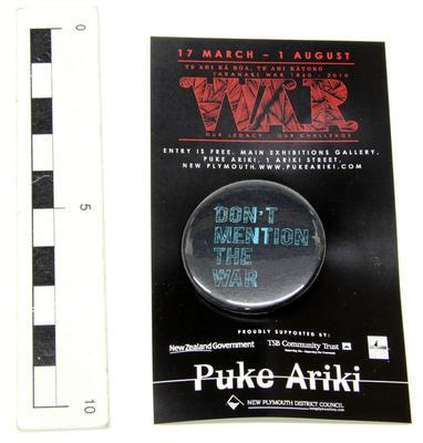 Badge, Pin; Circa 2010; PA2010.105